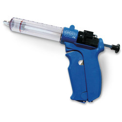 N.J. Phillips Plastic Semi-Automatic Repeater Syringe