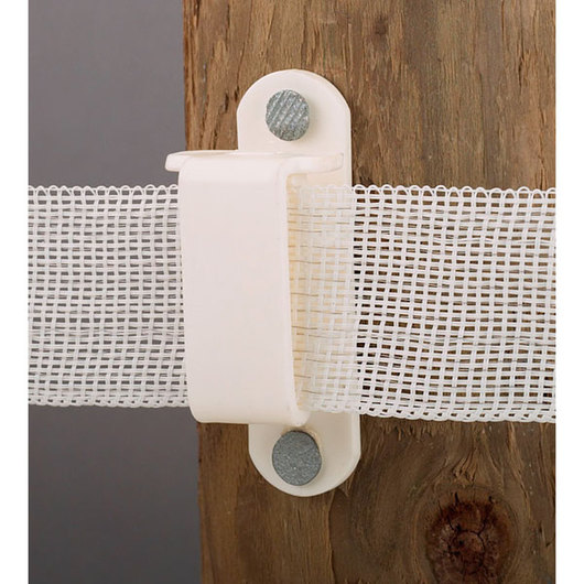Tape Insulator for Wood Posts