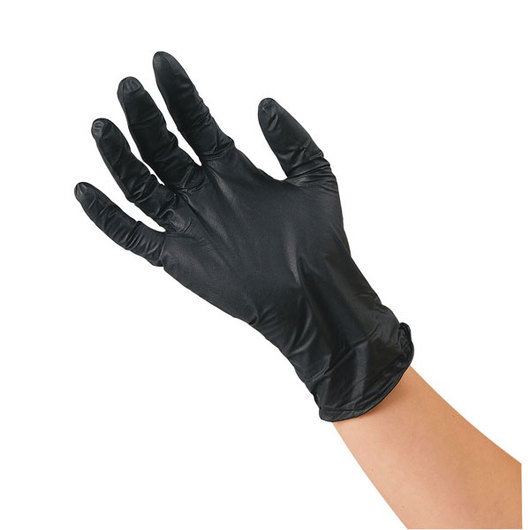 Adenna® Shadow® Black Nitrile Powder-Free Exam Gloves - Medium, Box of 100