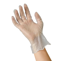 Vinyl Powder-Free and Latex-Free Disposable Examination Gloves