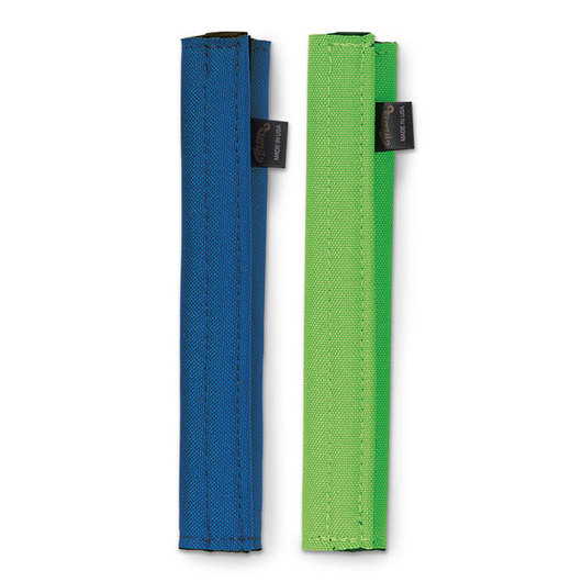 Weaver® Nose Band Covers - Neoprene Style, Pack of 2, Blue/Lime