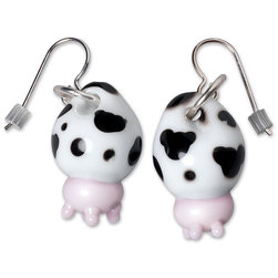 Holstein Udder Earrings