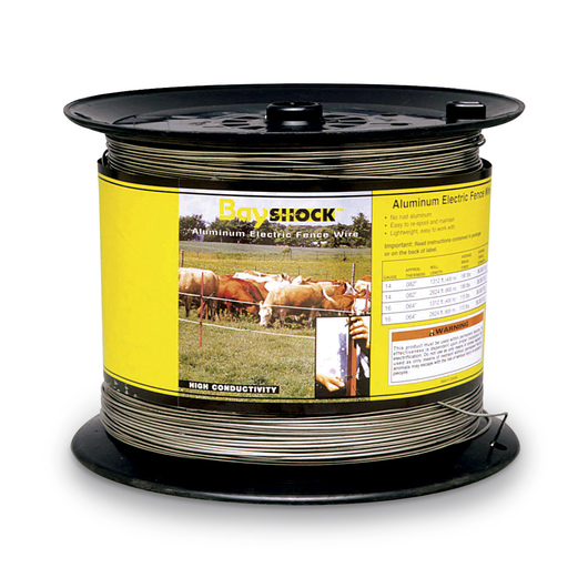 Bayshock® Aluminum Wire 14-ga./2,624-ft. (800 m) Spool