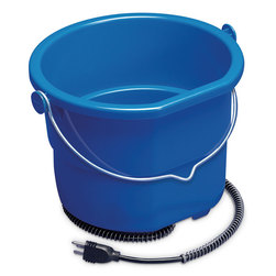 2-1/2-Gallon Heated Flat-Back Bucket