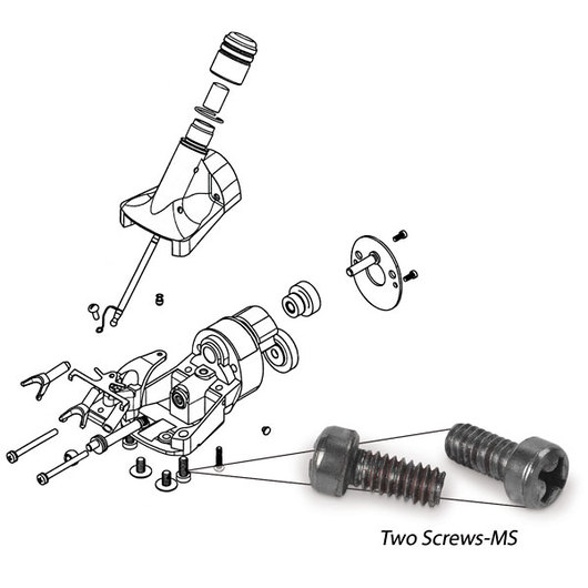 Oster® ShowMaster® and ShearMaster® Two Screws-MS
