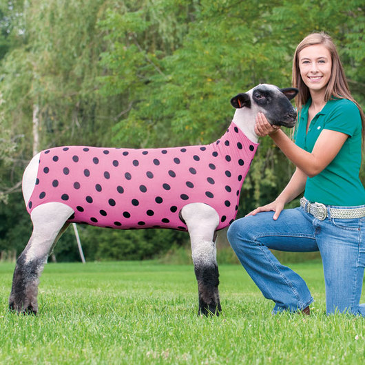 Weaver&#174 Patterned Spandex Lamb Tube - Miscellaneous Print, Large (130&#45l170 lbs.)