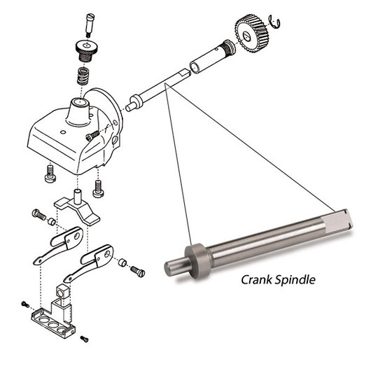 Andis® Clipper Crank Spindle