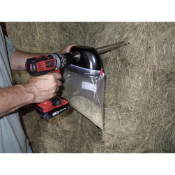 Best Harvest Hay Bale Sampler Probe, 1/2 in. drill