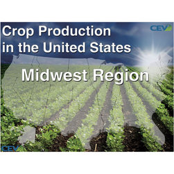 Crop Production in the United States PowerPoint® - Midwest (94 slides)