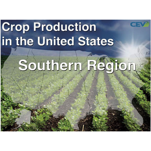 Crop Production in the United States PowerPoint® - Southern (115 slides)