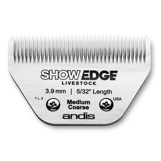Andis® ShowEdge™ Blades - Medium Coarse, 5/32 in. (3.9 mm)