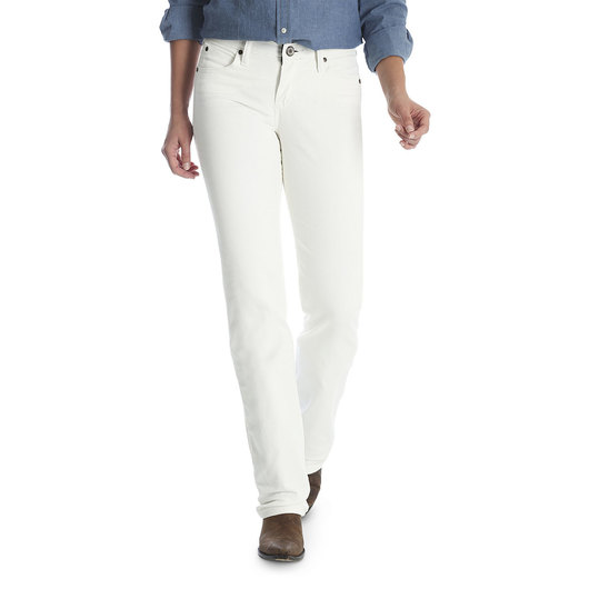 Wrangler® Cowgirl Cut® Women's White Jeans - Size 13, 34 in. L