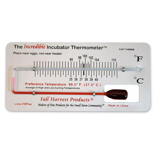 The Incredible Incubator Thermometer™