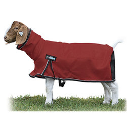 Weaver® ProCool™ Mesh Goat Blanket w/Reflective Piping - Red