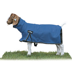 Weaver® ProCool™ Mesh Goat Blanket w/Reflective Piping - Blue