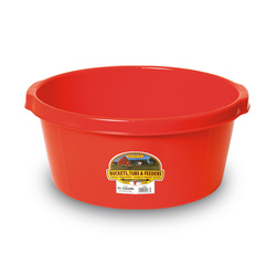 6-1/2-Gallon All-Purpose Utility Tub - Red