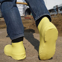 Shoe Covers - Size XX-Large, Yellow, 10 pairs
