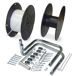 Super-Size Sticky Roll Fly Tape Deluxe Kit with Hardware