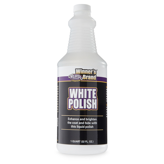 Weaver® White Polish - One Quart