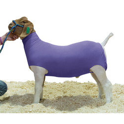 Weaver® Cotton Goat Tube, Purple, Large