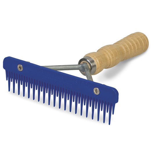 Weaver® Mini Fluffer Comb - Blue