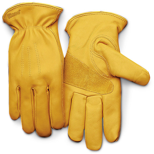 Kinco® Unlined Premium Grain Cowhide Leather Gloves - Large