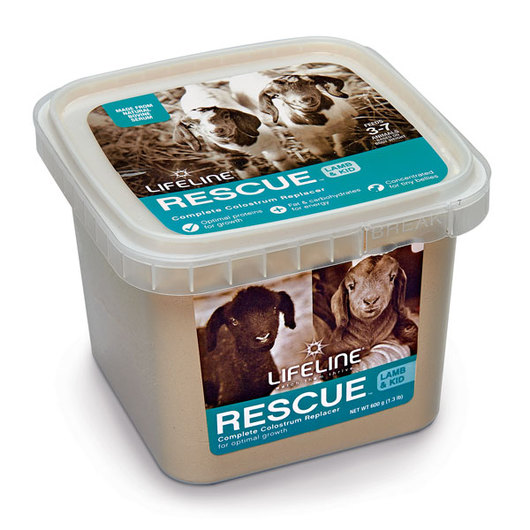 LIFELINE® Rescue™ Lamb & Kid Complete Colostrum Replacer - 1.3-lb. (600 g) Tub