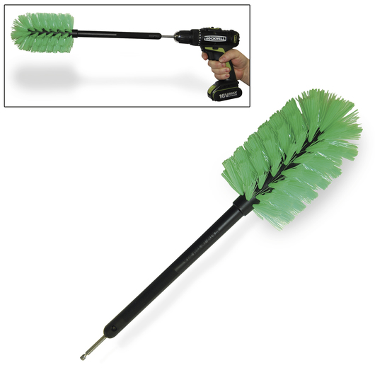 Nursing Bottle Brush for Cordless Drill