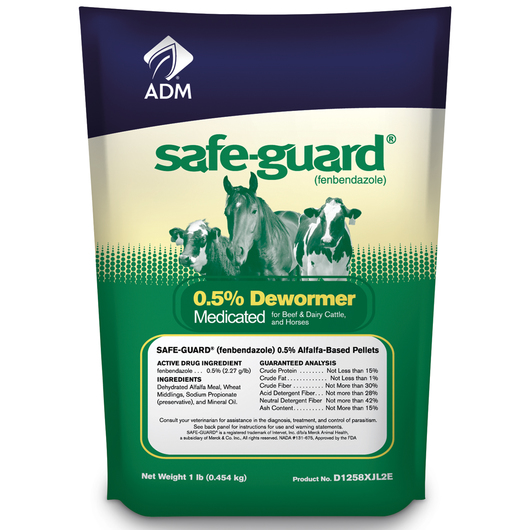 Safe-Guard® Cattle & Horses Top Dress Dewormer - 5-lb. pkg.