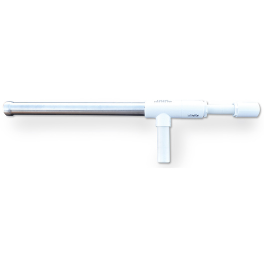Stainless Steel Multidose Balling Gun - 32 mm - Short  Stroke - 25-1/2 in. L - White
