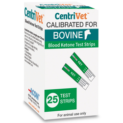 CentriVet Bovine Blood Ketone Test Strips