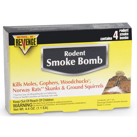 Rodent Smoke Bombs - Pack of 4