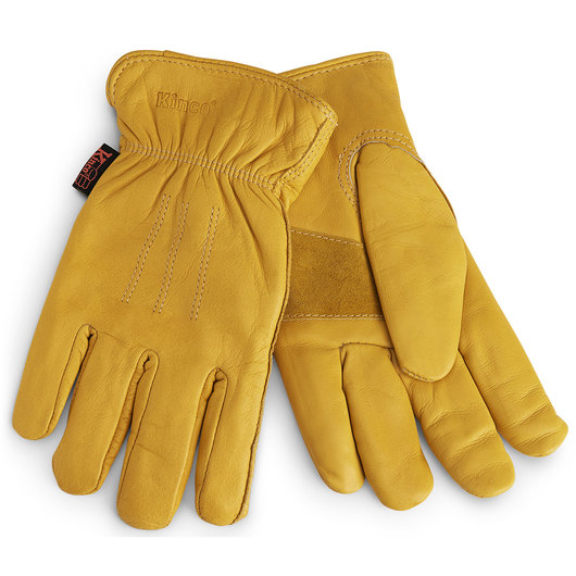 Kinco® Premium Grain Cowhide Leather Gloves - Lined - Large