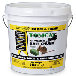 TOMCAT All-Weather Bait Chunx - 9-lb. Plastic Pail