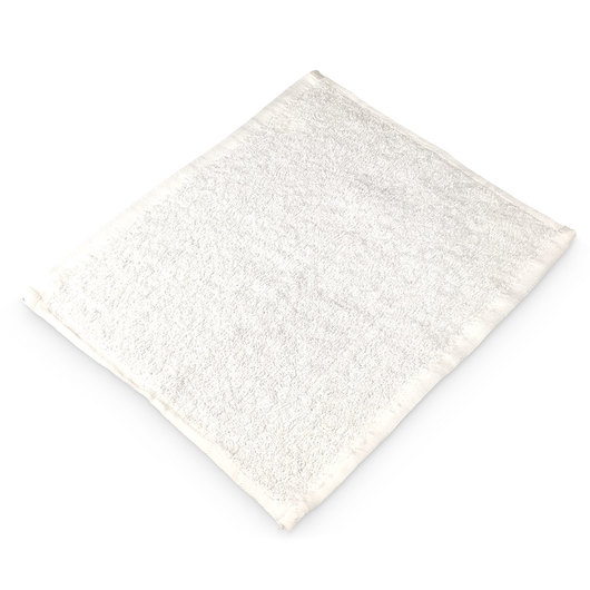 Terry Udder Cloths - 12 in. x 12 in. - Pack of 24 - White