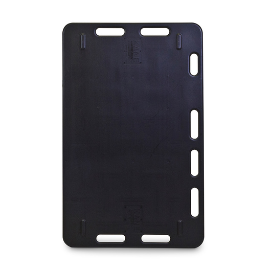 Two-Way Sorting Panel - 4 ft. x 30 - Black