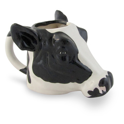 Holstein Cow Ceramic Mug