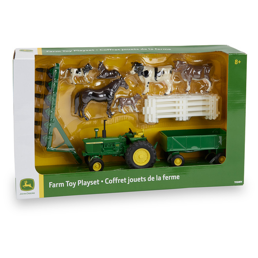 John Deere Farm Toy Playset