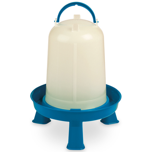 Double-Tuf® Poultry Waterer with Legs - 1-Gallon Waterer
