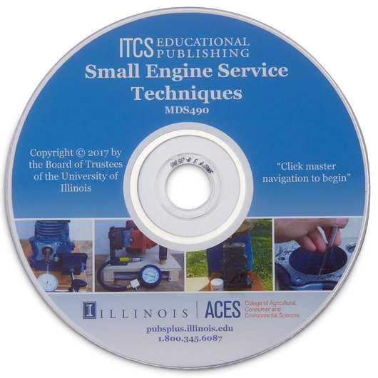 Small Engine Service Techniques CD-ROM