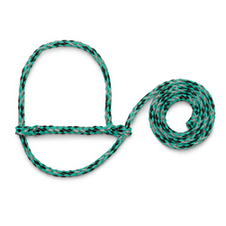 Weaver® Poly Rope Sheep and Goat Halters - Mint/Black/Gray