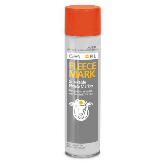 Fleece Mark Sheep Marker - Orange