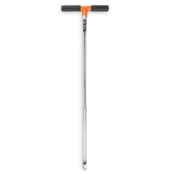 Soil Probe with Handle - 7-3/8 in. x 33 in., Nickel Planted