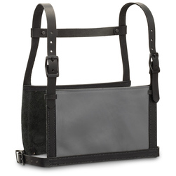 Weaver® Leather Show Number Harnesses - Adult Small/Medium, Black