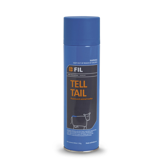 FIL Tell Tail Aerosol Paint - Fluorescent Blue