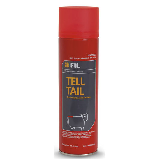 FIL Tell Tail Aerosol Paint - Fluorescent Red