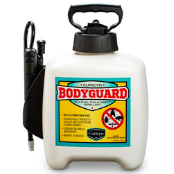 Curicyn™ BodyGuard Fly, Flea, Tick, and Insect Repellent - 1.33-Gallon Pump Bottle