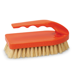 Weaver® Pig Brush with Handle - Orange