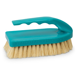 Weaver® Pig Brush with Handle - Teal