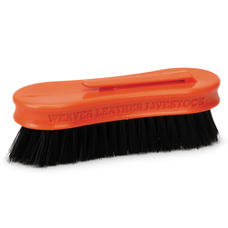 Weaver® Small Pig Face Brush - Orange